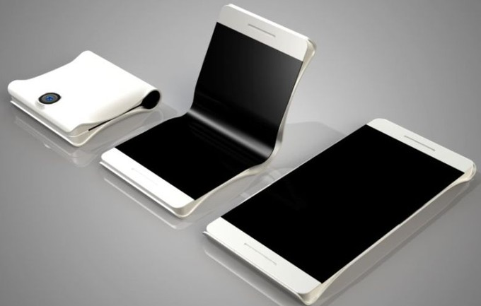 Samsung foldable screen phone