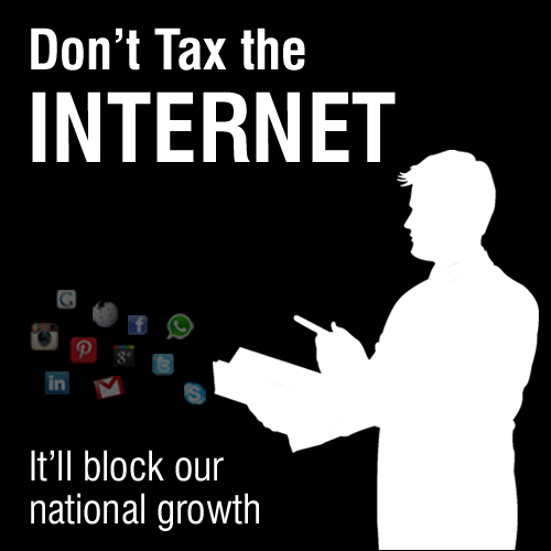 Digital Blackout Campaign to Block Internet Taxes