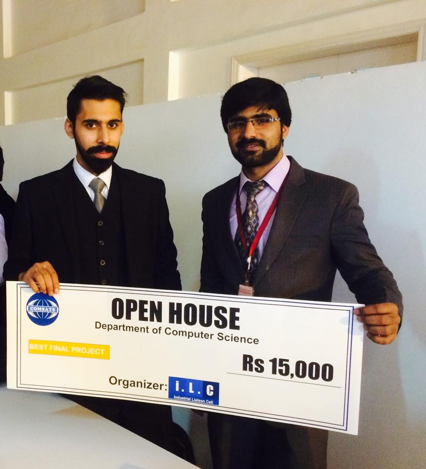 Second Prize: Robotic Floor Cleaner for Smart Buildings