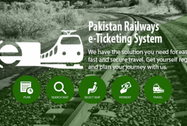 Pakistan Railways Launches e-Ticketing Service for Online Seat Booking