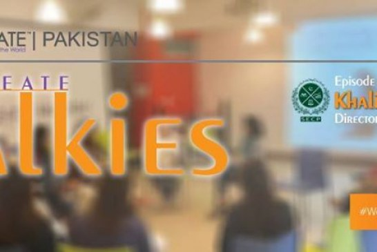 Session on Role of SECP in enabling startups by WECREATE Center Pakistan