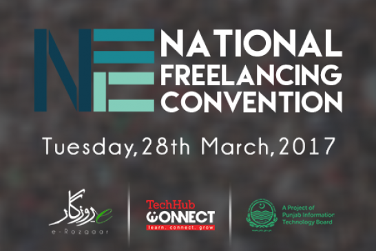 Pakistan's first ever National Freelancing Convention (NFC) to be held in Lahore