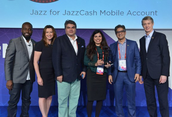 JazzCash Wins GSMA Glomo Awards 2017 for Mobile Finance for Women