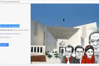 Supreme Court's Website Crashes After Panama Case Verdict