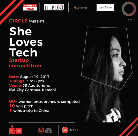 She loves Tech Global Startup Challenge